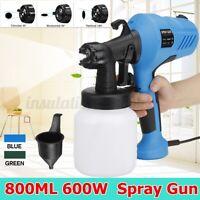 800ML 400W Electric Airless Paint Sprayer Spray Gun Wagner Handheld Painting Gun