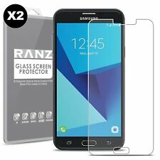 [2 Pack] ZTE Blade X Max Premium Tempered Glass HD Screen Protector - Clear