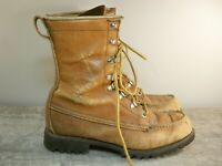 Vintage Red Wing Irish Setter Men's Hunting Work Leather Workwear Boots Size 6.5