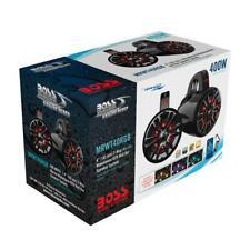 """Boss Audio MRWT40RGB 400 W Max 4"""" 2-Way Weatherproof Marine Waketower Speakers"""