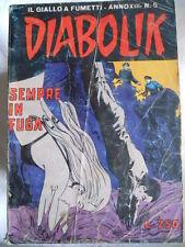 DIABOLIK anno XIII n°5  [G312]