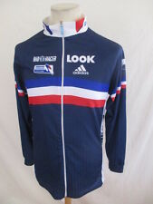 Cycling jersey ADIDAS LOOK French team EVA Blue Size XS