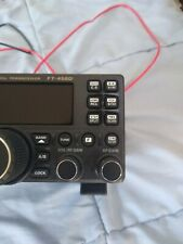 Yaesu ft-450d transceiver, HF UHF, built in tuner. Used twice.