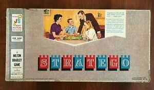 Vintage 1962 STRATEGO John Sands/Milton Bradley RARE