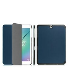 Smart Blue Case Cover for Samsung Galaxy Tab S2 9.7 inch SM-T810 / SM-T815