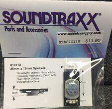 Soundtraxx 810113 Small Oval Speaker 16mm x 35mm x 8mm 8 Ohms  MODELRRSUPPLY-com