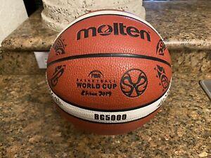 Official 2019 FIBA World Cup Molten BG5000 China Game Ball Basketball 29.5 7