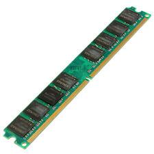 2GB DDR2 800 Mhz PC2-6400 Desktop PC DIMM Memory RAM Fit Intel CUP Motherboard