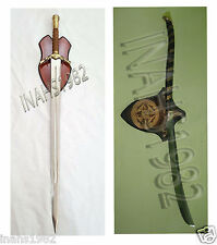 Boromir Sword + High Elven Warrior Sword-Lord Of The Rings