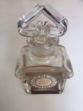 Vintage Guerlain L'Heure Bleue Baccarat Perfume Bottle Paris France