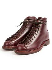 Mens Vintage Round Toe Lace Up Ankle Boots Leather Combat Shoes Gothetic Chic @