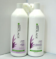 Biolage HydraSource Shampoo & Detangling Solution 33.8 PUMPS Liter Set Hydrating