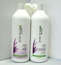 Biolage HydraSource Shampoo & Detangling Solution 33.8 Liter Set PUMPS Hydrating