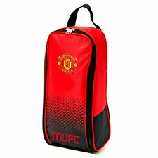 Manchester United Fade Print School Shoe Bag