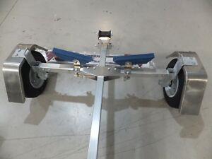 DUNBIER ALLOY LIGHT WEIGHT FOLD -A-WAY  TRAILER NEW 45KGS INCLUDES VIC REGO