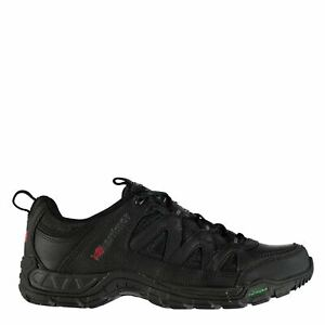 Mens Karrimor Summit Leather Walking Shoes Non Waterproof Outdoor New