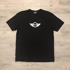 Mini Cooper Logo Graphic T Shirt Black Short Sleeve Mens Size 2XL