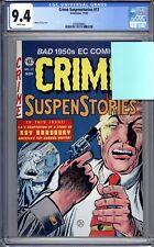 Crime Suspenstories #17 - CGC 9.4 (NM) 1996 - 1950s EC Reprints