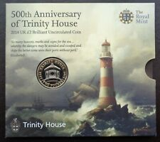 More details for 2014 royal mint £2 coin pack trinity house