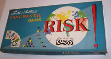 Vintage 1963 Edition Risk Board Game in Original Box & Instructions Parker Bros.