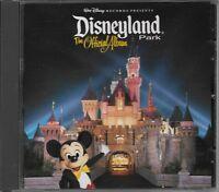 "WALT DISNEY RECORDS...""THE OFFICIAL ALBUM OF DISNEYLAND PARK""....OOP SOUVENIR CD"