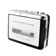 USB Cassette Tape to MP3 iPod CD Converter Capture Audio Music Player US SHIP