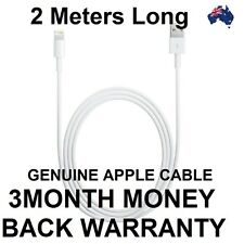 Original Genuine 2M Apple Lightning Data Cable Charger for iPhone 5C5S 6S iPad 4