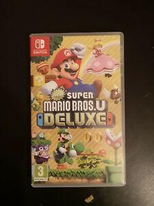 New Super Mario Bros. U Deluxe (Nintendo Switch, 2019) (comme neuf)