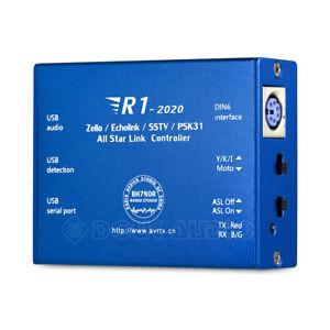 Echolink&zello YY Voice Interface Board Controller Radio-Network USB Sound Card