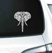 E101 TRIBAL ELEPHANT  VINYL DECAL CAR TRUCK VAN SUV