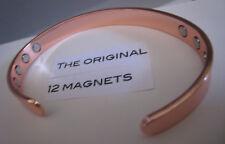 Copper Magnetic Bracelet Arthritis Healing Men Women Wristband New