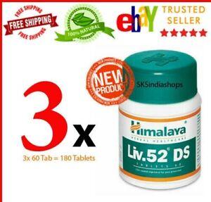 3 Bottles 180 tablets Liv 52 DS liver care natural remedies Liv52 DS EXP 02/2023