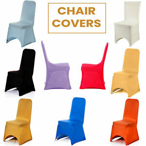 Chair Covers for Dining Room Stretch Arched Seat Cover Wedding Party Decor 50pcs