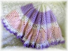 "CROCHET PATTERN for ""EMILIE"" ROUND BABY AFGHAN BY REBECCA LEIGH--42 - 44"" DIA."