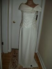 FORMAL DRESS EVENING BALL GOWN PROM PARTY COCTAIL WEDDING BRIDESMAID SIZE XS NWT
