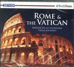 Rome & The Vatican, World Tours, Video Journey, PC MAC