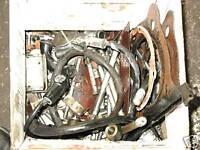 77 KAWASAKI KZ750 KZ 750 TWIN ENGINE MOTOR BOLT BIN #4