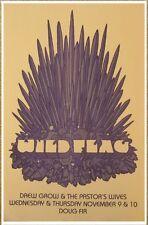 Wild Flag ( Sleater-Kinney ) 2011 Gig Poster Portland Oregon Concert