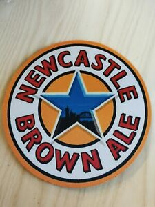 Newcastle Brown Ale 20cm Diameter NEOPRENE Drink Mat /Mouse Mat New