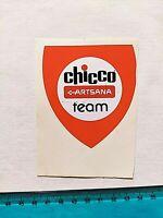 ADESIVO CHICCO ARTSANA TEAM VINTAGE ANNI 80 OLD STICKER AUTOCOLLANT