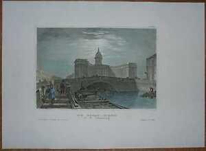 1837 Meyer print KAZAN CATHEDRAL, ST. PETERSBURG, RUSSIA (#34)