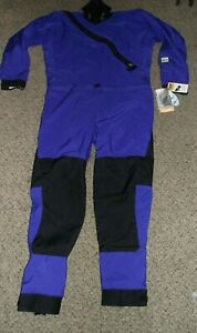 NWT KOKATAT T3 SWIFT ENTRY DRYSUIT XL COBALT BLUE