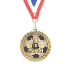 Soccer Medal- Man Of The Match- Free Neck Ribbon