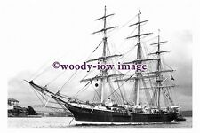 rs0102 - UK Sailing Ship - Joseph Conrad , built 1882 - photograph