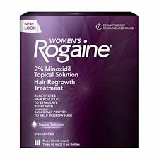 Women's Rogaine 2% Topical Treatment for Women's Hair Regrowth, 3-Month Supply