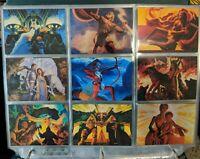 1993 GREG HILDEBRANDT SERIES 2: 30 YEARS OF MAGIC Complete Trading Card Set