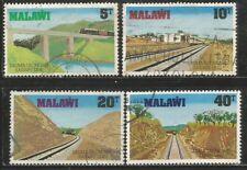 MALAWI 1979 SALIMA LILONGWE RAILROAD SG#346-9 COMPLETE USED SET 0542