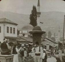Natives, Market Place,Sarajevo/Bosnia/Austria-Hungary Magic Lantern Glass Slide