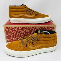 *NEW* Vans Authentic Old Skool Sk8-Mid Reissue (Men Sizes) Skate Shoes Wheat Hi