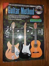 Progressive Guitar Method Book 2 & CD Learn to play Intermediate